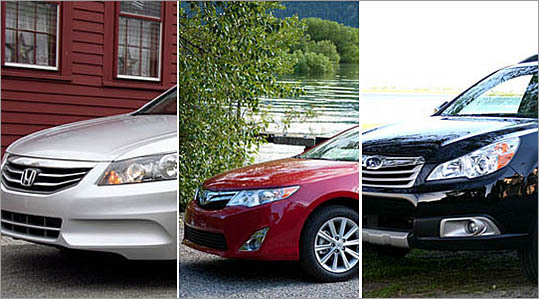 10 best-selling cars in New England
