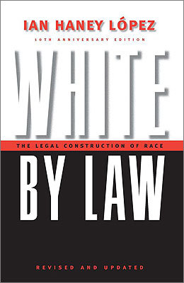 White by Law: The Legal Construction of Race Written by: Ian Haney Lopez Recommended by: Rishi Reddi, novelist, author of 'Karma and Other Stories' 'You might think the book is full of dry theory, but it's not; through sociological insight and legal analysis, the author reveals how our society has tried, by considering skin color, facial features, body type, and even religion and culture, to regulate who is permitted to become American. A great read for anyone trying to understand why we look at race the way we do.'