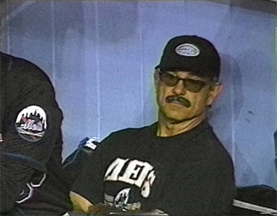As manager of a major market team, Valentine's name and legend grew, thanks in part to his passionate on field antics and colorful after game commentary. Perhaps his most famous move occurred in 1999. After being ejected in a game against the Blue Jays for arguing a catcher's interference call, he returned to the dugout in disguise in the 12th inning. Major League Baseball suspended him for three games and fined him $5,000 for the stunt.