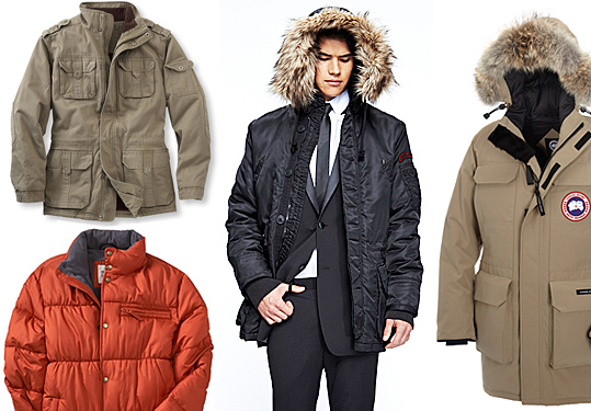 26 top winter outerwear options for men - Boston.com
