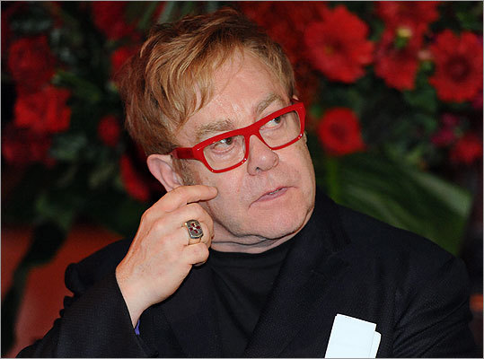 British singer songwriter Sir Elton John attended a World AIDS Day event in Sydney, Australia.