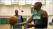 Celtics training camp