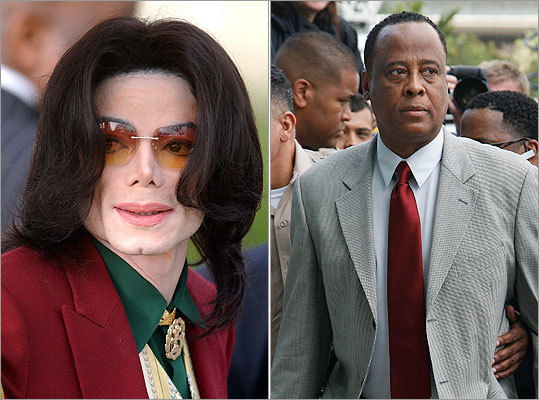 Michael Jackson, Conrad Murray