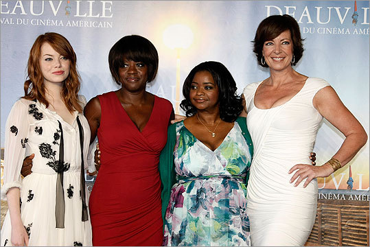Emma Stone, Viola Davis, Octavia Spencer, Allison Janney