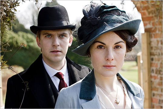 Best Mini-Series or Motion Picture Made for Television 'Cinema Verite' (HBO) 'Downton Abbey' (MASTERPIECE) (pictured) 'The Hour' (BBC America) 'Mildred Pierce' (HBO) 'Too Big to Fail' (HBO)