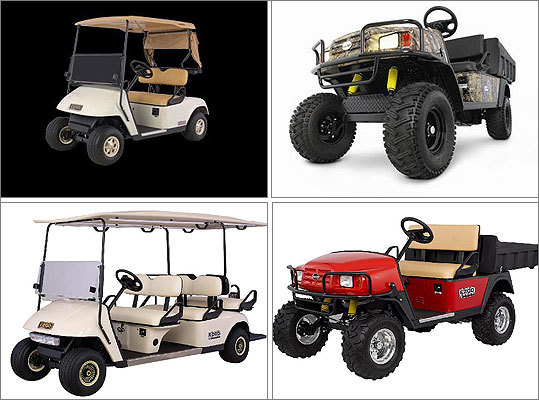 Golf cars, shuttles and off-road utility vehicles recalled due to crash hazard Date: Dec. 14, 2011 Units: About 21,900 Due to a problem with the steering system, a driver can lose control of the vehicle. This can result in a crash. There have been 71 reports of the incident. No injuries resulted.