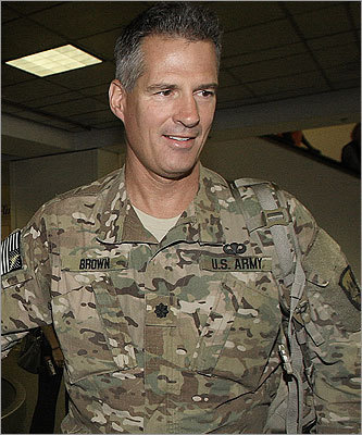 'Let me assure you that he is dead, that bin Laden is dead. I have seen the photos and, in fact, we've received the briefings and we'll continue to get the briefings.' - US Senator Scott Brown During a series of media interviews on May 4, the Massachusetts Republican - a member of Senate Armed Services Committee and a lieutenant colonel in the Army National Guard - argued that photos of the dead Al Qaeda leader should not be released to the public because they were too graphic.