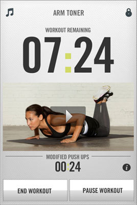 Nike Training Club This app aims to be your customized personal trainer with 60 workouts, including new training regimens from five professional athletes. Earn app reward workouts from Rihanna's personal trainer Ary Nuñez. Price: Free.