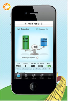 "MyFitness Pal Calorie Counter and Diet Tracker This app's food database has more than 400,000 items with ""precise data"" on calorie content and nutritional ingredients. Use the app to calculate your daily intake of vitamins or create your own diet and physical activity plans to lose or gain weight. Price: Free."