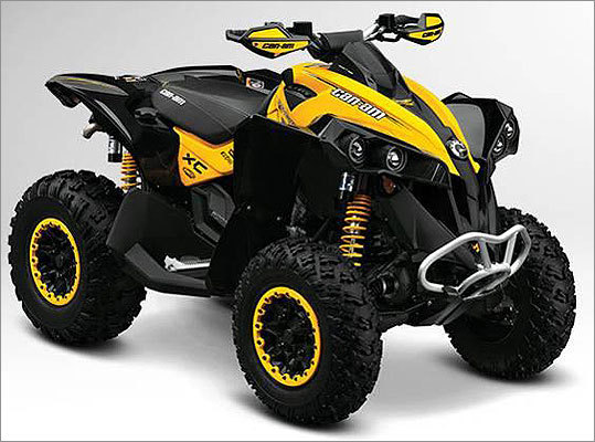 BRP recalls ATVs due to loss of control hazard Date: Dec. 22, 2011 Units: About 1,600 The main dynamic power steering shaft can crack and pieces can detach. Those pieces inside the shaft can block gears and cause limited steering ability, posing a loss of control hazard with risk of serious injury or death to the operator. There have been two reports of broken power steering shafts resulting in limited steering ability. No injuries were reported.