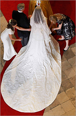 Kate Middleton's wedding gown