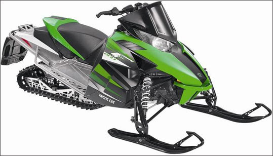 Arctic Cat recalled snowmobiles due to crash hazard Date: Jan. 31, 2012 Units: About 19,000 On Arctic Cat snowmobiles, the lower steering tie-rod attachment can loosen and cause loss of steering control, posing a crash hazard. There have been four reports of incidents, including one complete loss of steering control. No injuries have been reported.