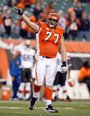 AFC wild-card game: Bengals vs. Texans They lost their last regular season game, but offensive lineman Andrew Whitworth (pictured) and the 9-6 Cincinnati Bengals team sneaked into the playoffs anyway. The team ranked 18th in the league in total points per game (21.5) during the regular season and ninth in total points allowed (20.2). The Houston Texans finished 10-6 on the season. Running back Arian Foster led the charge with 1,224 yards and 12 touchdowns. On defense they ranked fourth in fewest points allowed (17.4) and second in total yards allowed (285.7). The game is a rematch of week 14 when Houston beat Cincinnati 20-19.