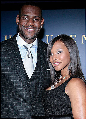 LeBron James, Savannah Brinson