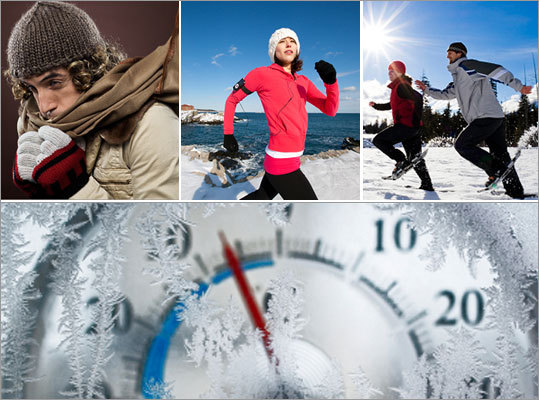 Worried the cold weather means you'll be stuck inside a dingy gym all winter long? Not to worry, if you're a fan of exercising outside, the American Council on Exercise says it's fine to exercise in the cold as long as you take certain precautions to avoid hypothermia. Here are some tips for cold weather exercising from the Council's chief science officer Cedric Bryant...