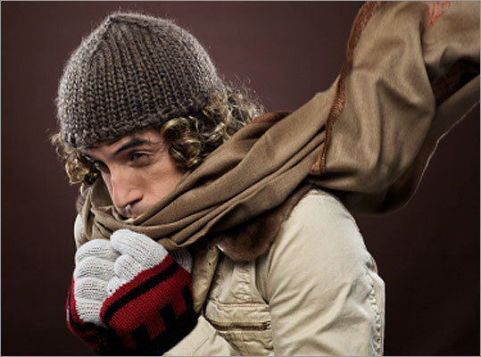 Consider a face mask or scarf in frigid temperatures If those temperatures are dipping near the danger zone, protect the skin on your face by covering it up. Having a loose layer over your nose and mouth can also warm frigid air before you inhale, helping to protect your lungs.