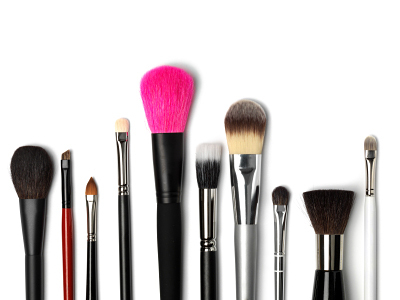 Maintain a cleaning routine for your makeup brushes Build-up from product and the natural oils from your skin can not only damage your makeup brushes, they can lead to bacteria-induced breakouts. Your most-used brushes will greatly benefit from a deep clean once or twice a week but in between cleaning can be as easy as a swipe across a makeup remover cloth until the bristles sweep clean.