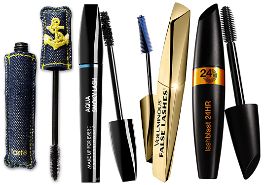 Favorite mascaras for January 2012