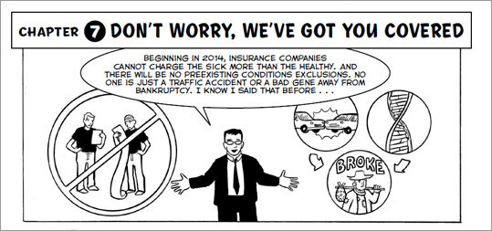 """MIT health economist Jonathan Gruber has just released """"Health Care Reform: What It Is, Why It's Necessary, How It Works,' a graphic novel about the 2010 federal health care law."""