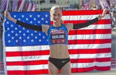 Flanagan wins marathon trials