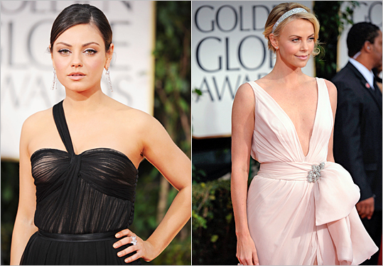 Mila Kunis and Charlize Theron