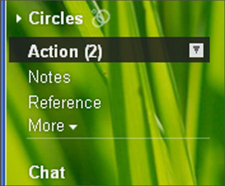 Create e-folders: Tips Create two basic categories of folders: action folders and reference folders. Action folders contain anything that requires action by you. Reference folders are for all other items that do not require action but contain information that you may need at a future time.