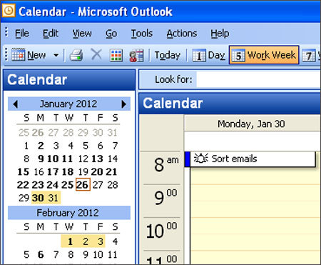 Step 9: Budget time to sort e-mail Plan to sort your e-mail messages. Too many people underestimate the amount of time sorting their e-mail will consume. By building time into your schedule, inbox management becomes an expectation in your daily routine rather than an annoyance that catches you off guard at inconvenient times. The times of day and amount of time you'll need to spend sorting your e-mail will depend on your specific schedule and work demands — and your discipline.