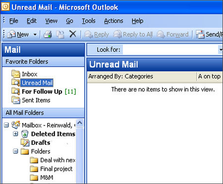 Step 5: Empty your inbox every time you view it This is the step that makes people nervous, but it needs to be done to truly detoxify your inbox. 'It's like telling your kids to put all their toys away at the end of the day,' Egan said. Leaving e-mails you have already read in your inbox is just as counterproductive as leaving old mail in the box at the end of your driveway. Emptying does not mean handling every item immediately; it means sorting, deleting, responding, and moving items to the appropriate places that allow you to better manage your work.