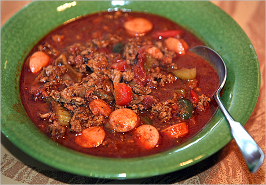 All-American chili recipe
