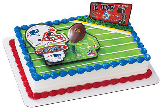 Baskin-Robbins Patriots cake