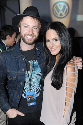 Indianapolis was party central as fans and celebs swarmed the city for the Super Bowl. Musician Paul McDonald and singer Pia Toscano attended The Rolling Stone Volkswagen Rock & Roll Fan Tailgate Party at The Crane Bay on Feb. 5. Names blog: Super Bowl scene and parties coverage from the Globe