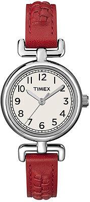 Timex Weekender in red