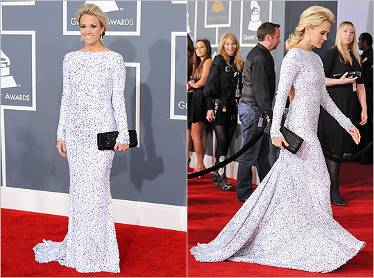 Carrie Underwood at the GRAMMYS