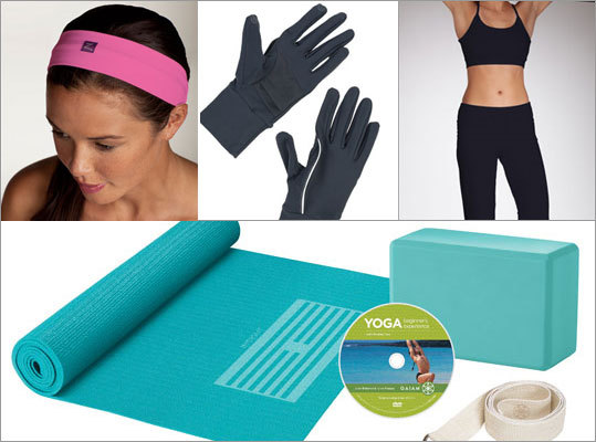 From super comfy yoga pants to running gloves that will go the distance, we've picked out some of our favorite fitness gear for various activities. Please contact retailers for up-to-date pricing and information. Listed prices and availability are subject to change.