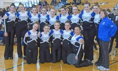 BHS dance teams clean up in February