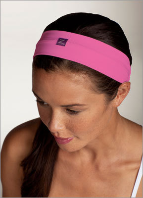 Headband $12 @ Zobha This headband is made of a soft stretchy material, which makes it comfortable to wear for long periods of time and the width helps keep those pesky stray hairs out of your face.