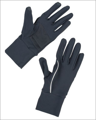 Brisk Run Gloves $28 @ Lululemon These gloves will not only help keep your digits warm, but also have built-in touch-screen friendly material on the finger tips so you can use your smartphone on your run.