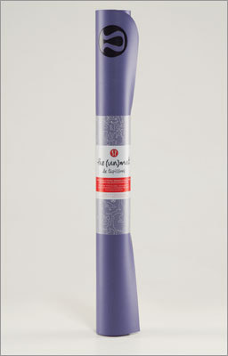 Yoga mat $38 @ Lululemon The Un Mat from Lululemon (which has a new store opening on Newbury Street on March 16) is a yoga mat that is super thin and lightweight. We think this mat is perfect for sticking in your bag for travel or for classes every day.