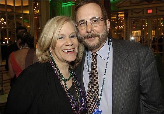 Feb. 17 in Boston Janey Bishoff and David Blumenthal of West Roxbury.