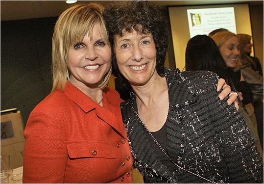 Feb. 23 in Boston Julie Kahn of Newton and Heidi Wyle of Weston.