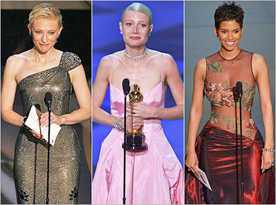 Showstopping Oscar gowns throughout the years