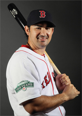 Fans are eager to see slugger Adrian Gonzalez in his second season with the team.