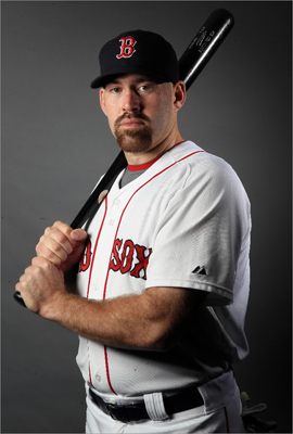 Kevin Youkilis is hoping for a healthy season. He spent time on the disabled list last season because of a hernia and bursitis in his hip.