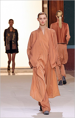 When lounge-wear goes too far. Damir Doma, Feb. 29.