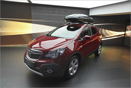 Opel Mokka What's hot: A bite-size crossover with good fuel economy and style What might go wrong: Calling it the 2013 Buick Encore and trying to pass that off as a luxury crossover in America
