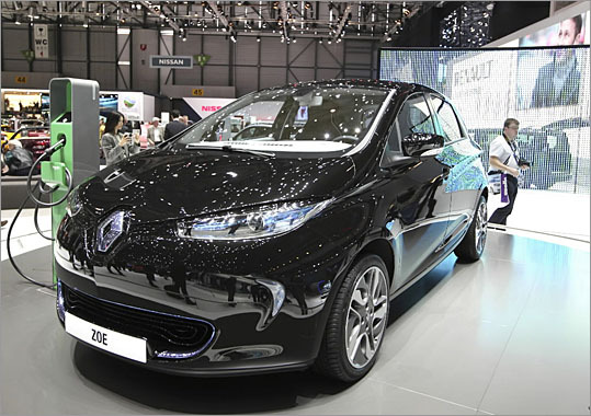 Renault Zoe What's hot: An electric car with a perfume dispenser by L'Oreal What might go wrong: Not much, so long as the price is reasonable