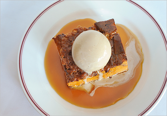 Eastern Standard's bread pudding