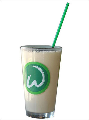 "MILKSHAKE The Wahlberg brothers' latest Hingham restaurant specializes in burgers. But the best thing on the menu at Wahlburgers may be the ""adult frappes"" – milkshakes made even more decadent by the addition of booze. They come in flavors such as gingerbread (vanilla malt ice cream with rum, vanilla vodka, ginger syrup, and crumbled gingersnaps) and mud pie (coffee ice cream with Kahlua, chocolate liqueur, vanilla vodka, and Oreos). But the diehard Funky Bunch aficionado will go for the strawberry, banana liqueur, and vodka concoction called Funky Monkey. > 19 Shipyard Drive, Hingham, 781-749-2110, wahlburgers.com"