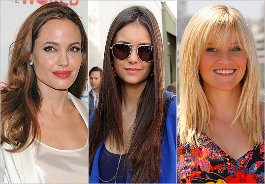 Celebrities wearing pink lipsticks