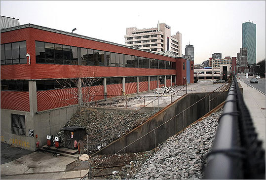 Once redeveloped, the area around the former Boston Herald site will be dubbed the 'Ink Block.'